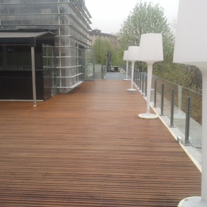 Terrasse après rénovation