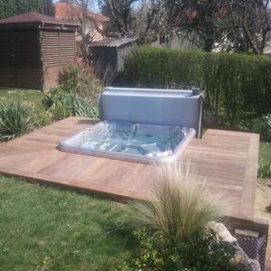 Terrasse de spa