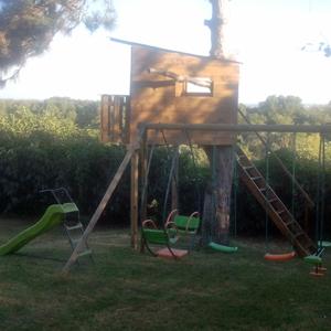 Cabane de jardin profil